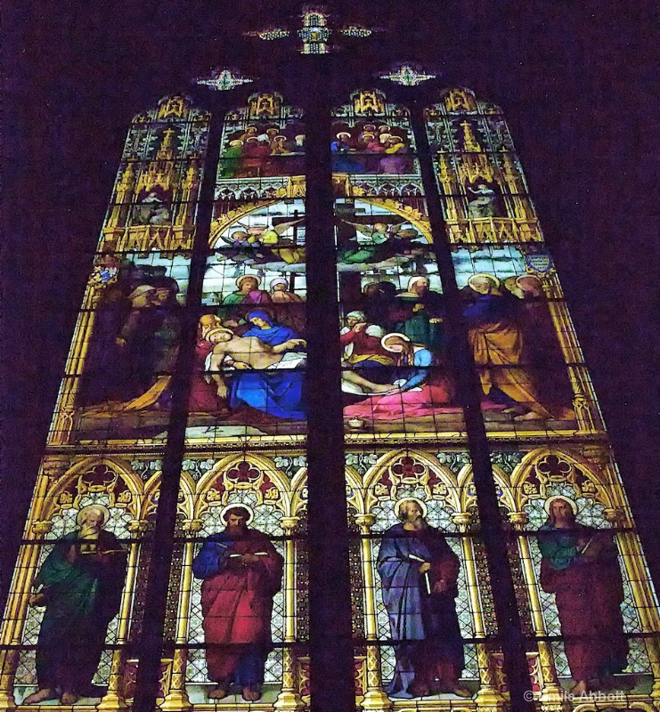 """Stain Glass window from """"The Dom"""""""