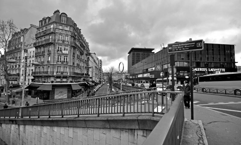 Paris- Near Montparnasse tower