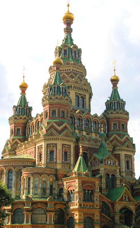 Church of St. Peter and St. Paul in Peterhof