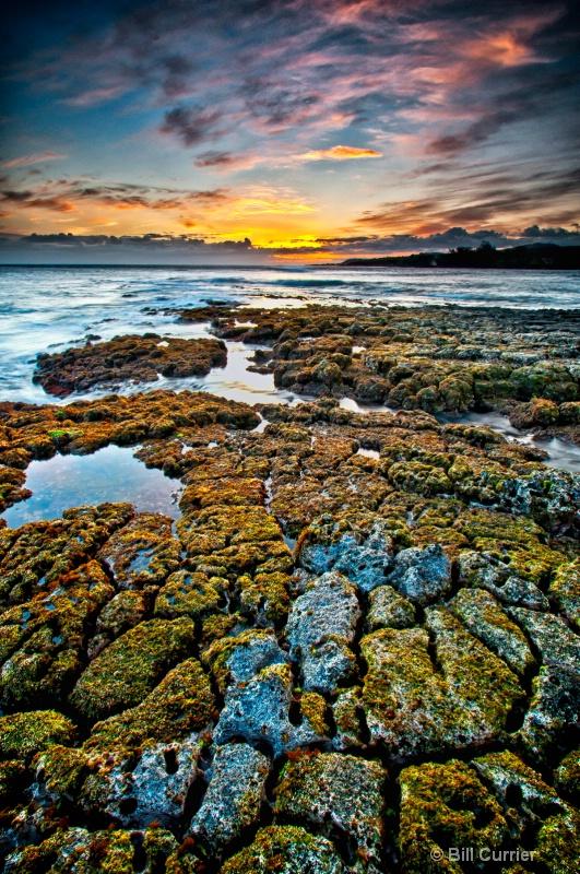 South Shore Beach Sunset - Kauai