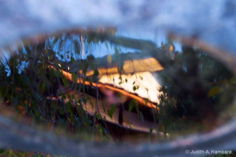 samurai villa reflection