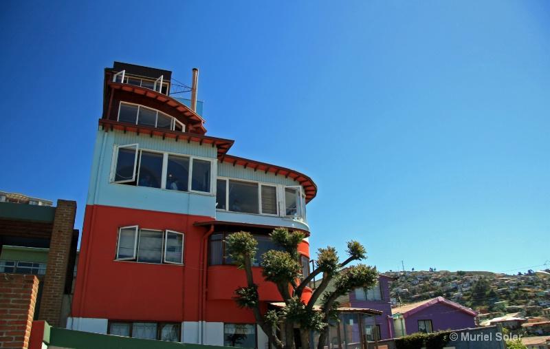 Pablo Neruda's house (Valparaiso)
