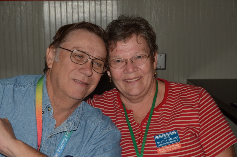 MARTHA AND BOB EHLMAN