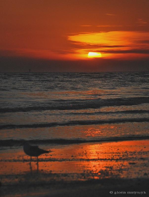 Beach Sunset, Treasure Island, FL, USA