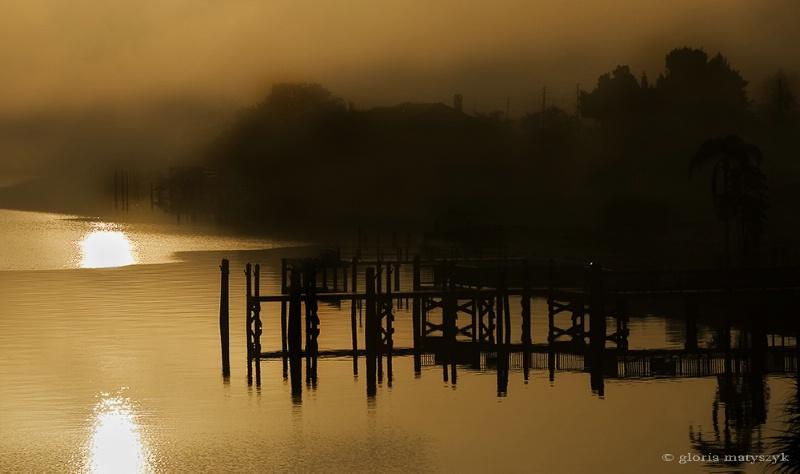 Foggy Morning, Treasure Island, FL, USA