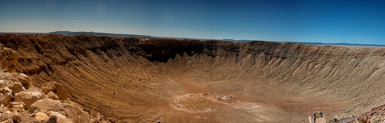 Meteor Crater near Winslow, AZ