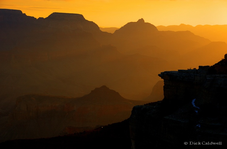Grand Canyon National Park, AZ, South Rim sunrise