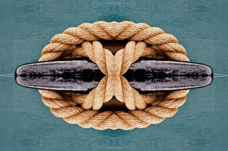 Ship's Knott--Kaleidoscope