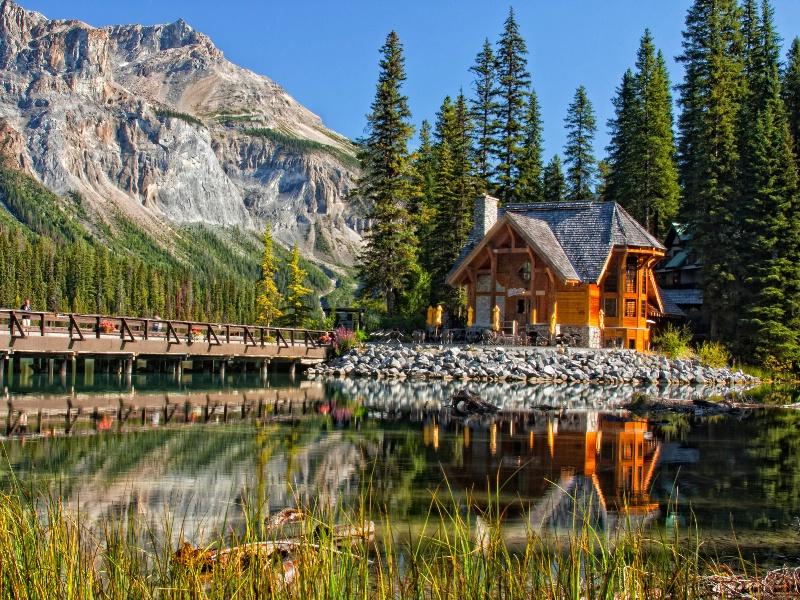Emerald Lake at Banff