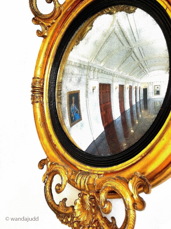 DAR Reflection of Grand Hall...
