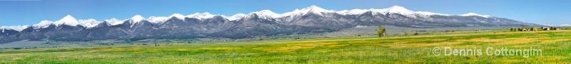 Westcliffe, Colorado Panorama