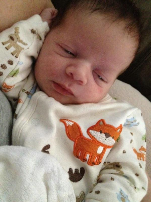 Warren's Grreat-grandson, Stanley James