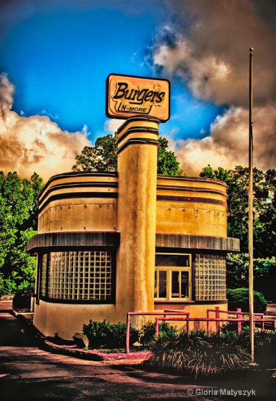 Burger joint Architecture, Thomasville Georgia