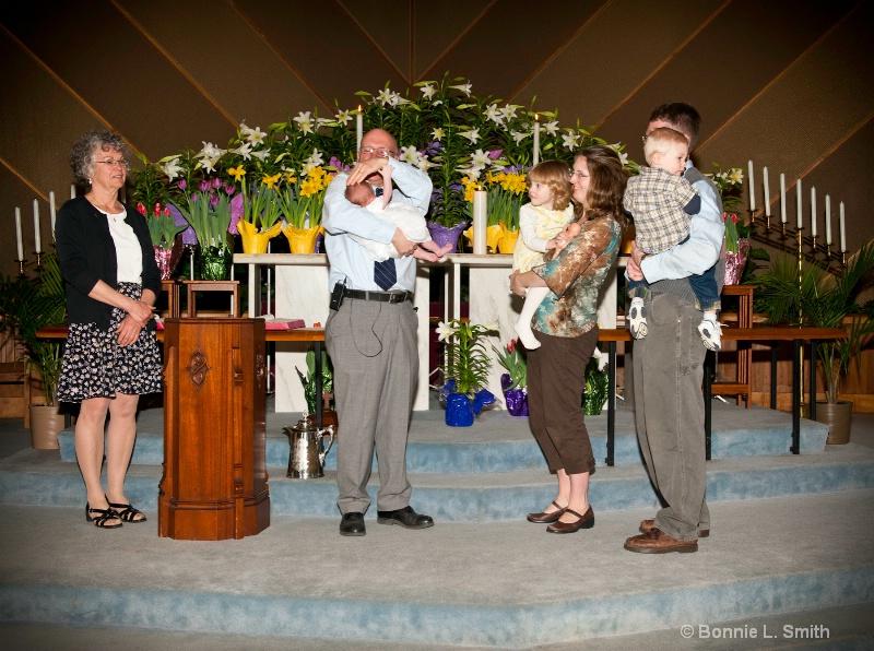 annelina baptism