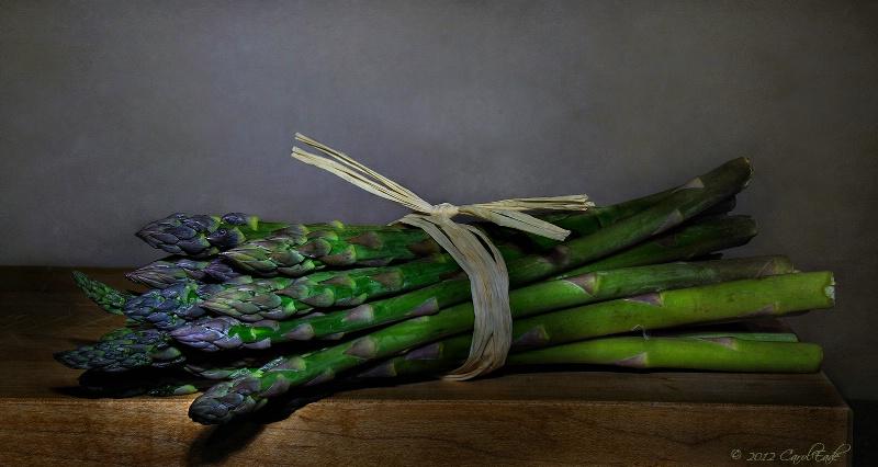 Purple Tip Asparagus