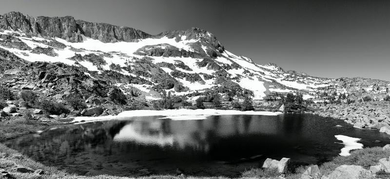 Vernal pond, Mokelumne Wilderness, CA