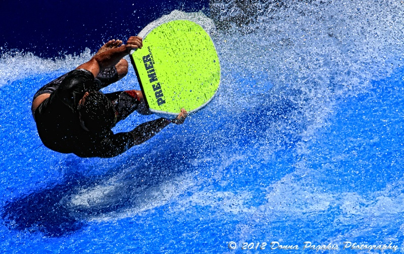 Pro Flowboarder in Action