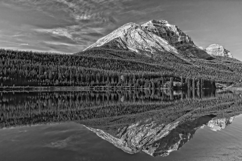 Reflecting on the Mountain