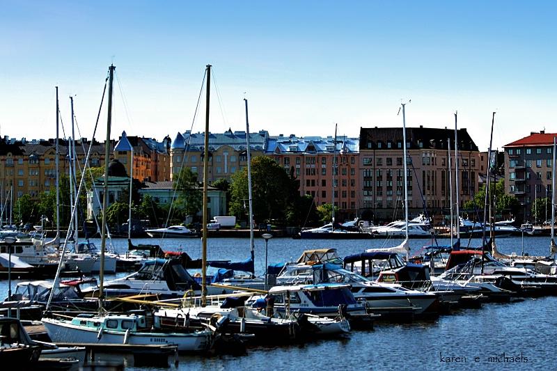 Docking  at  Helsinki
