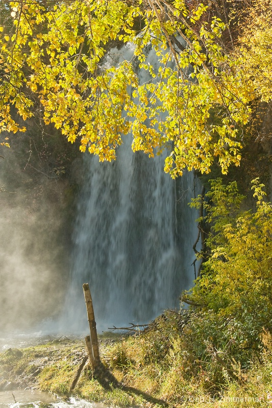 lil Spearfish Falls in Autumn
