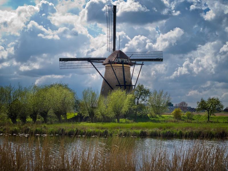 Windmills Of Holland