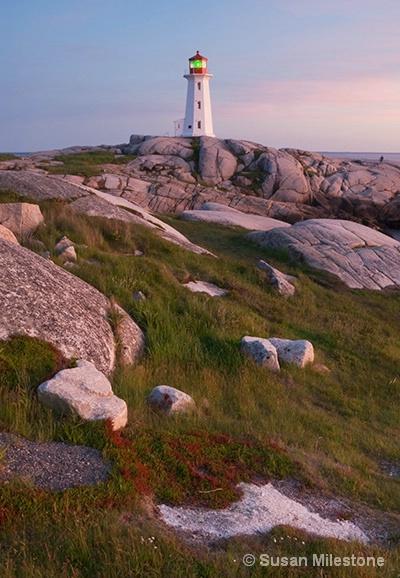 Peggy's Cove Light 7413