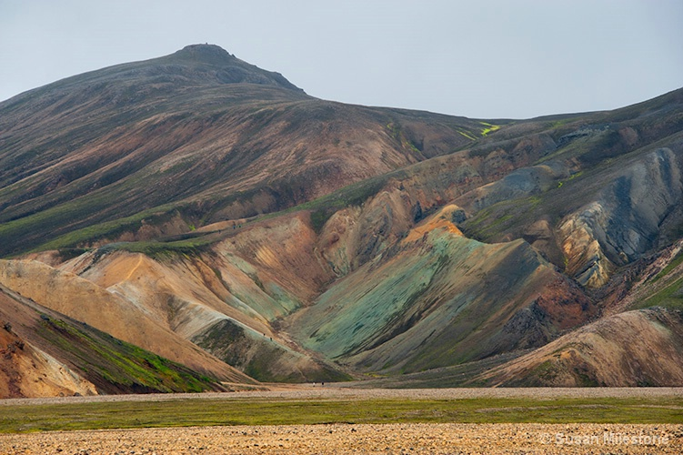 Iceland Colorful Mountains 3873