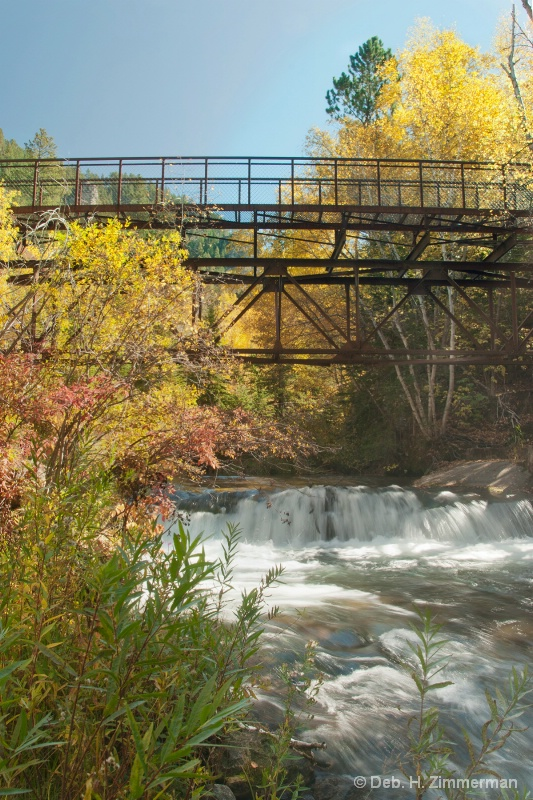 Bridge to Lil Spearfish Falls