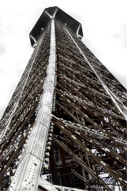 The Very Top Of The Eiffel Tower !