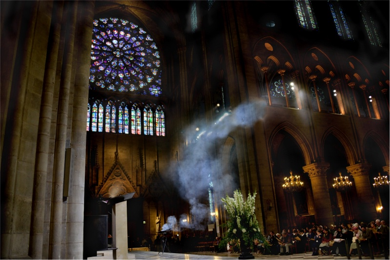 Incense, In Notre Dame Cathedral, in Paris !