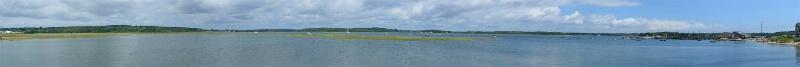 pine point marsh panorama