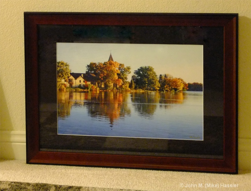 13x19 fowler lake in 24x30 nd7207 single blk matte