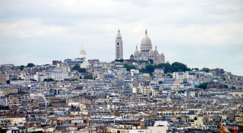 Sacre Coeur at the Top of the Hill, Paris !