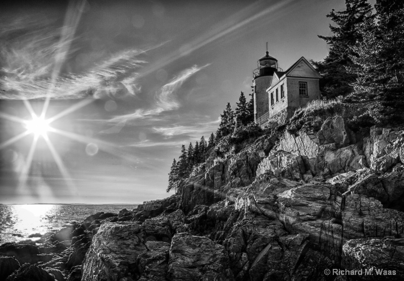 Late Afternoon at Bass Harbor
