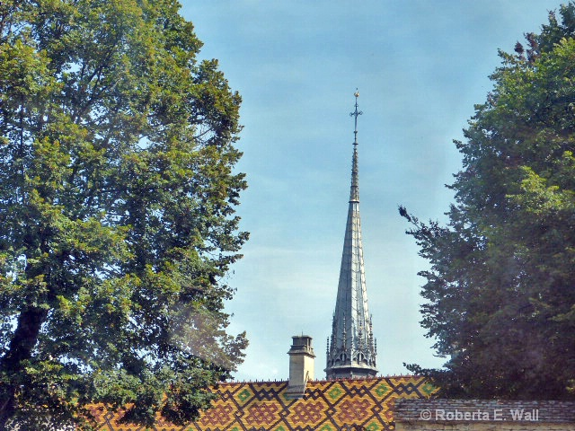 roof and steeple