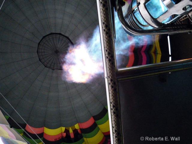 uping balloon