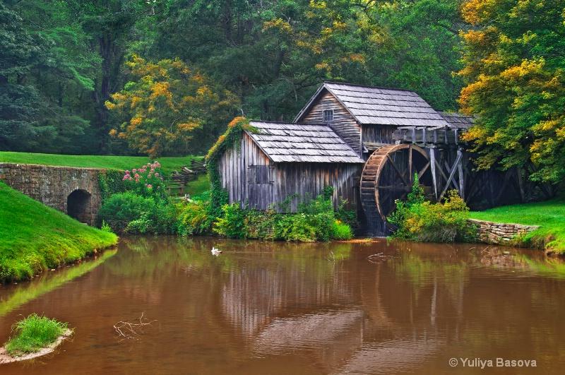 Mabry Mill<p>