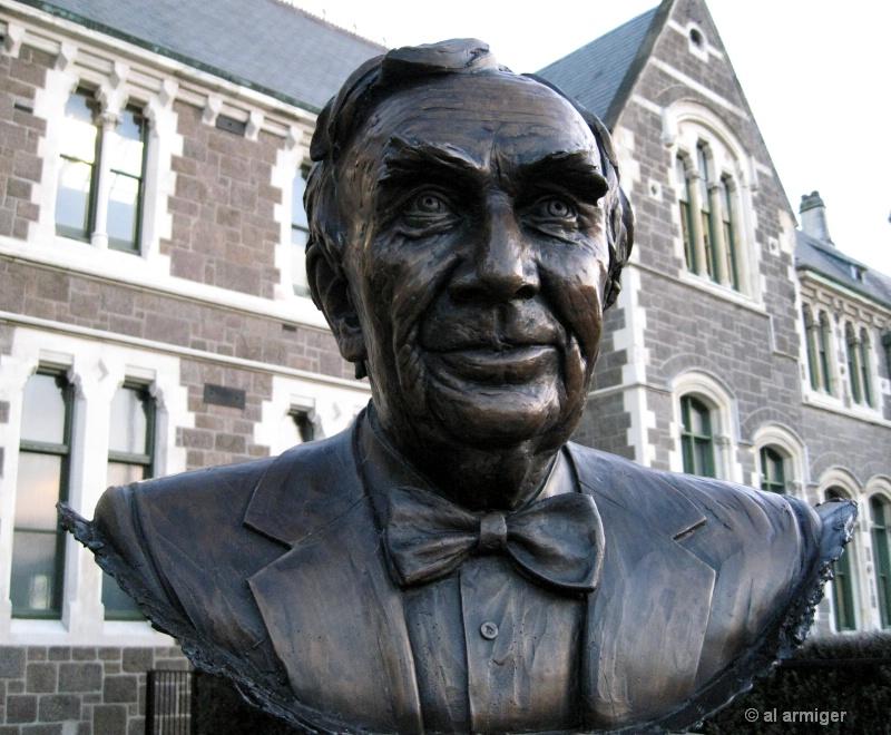 Christchurch College lauds famous past pupils.