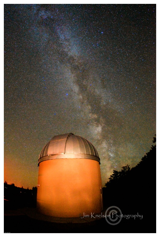 Observatory & Milky Way, Cypress Hills SK