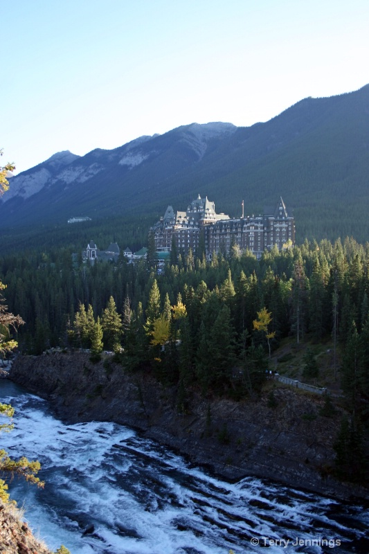 Historic Fairmont In Banff