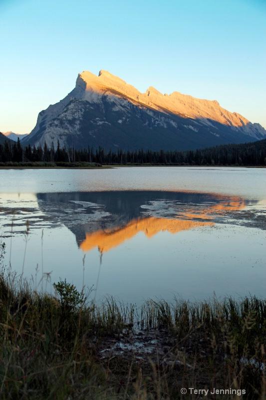 Vermillion Lake Reflection