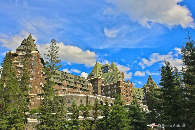 Fairmont Banff Springs Hotel Front View