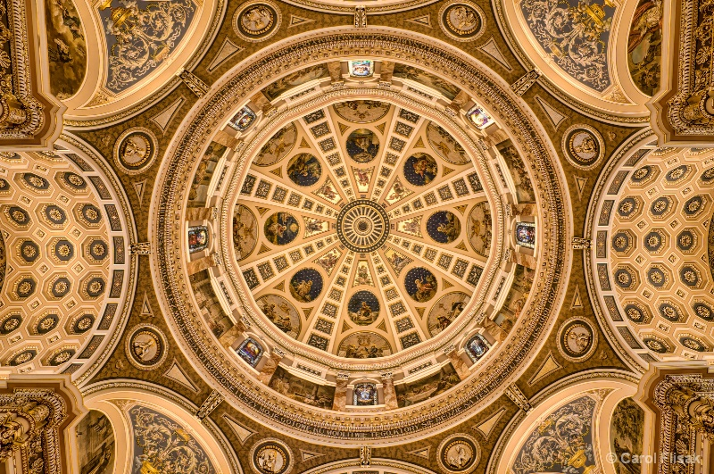 Inner Dome at St. Josaphat ~ Milwaukee, WI