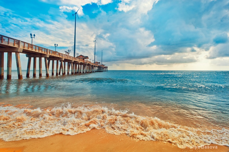 Jennette's Pier at Nags Head, Outer Banks, NC<p>