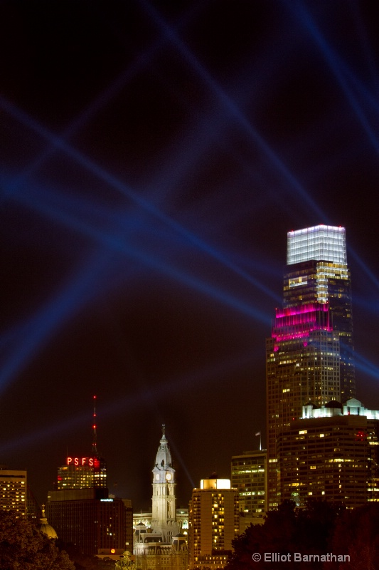 Philadelphia at Night 2