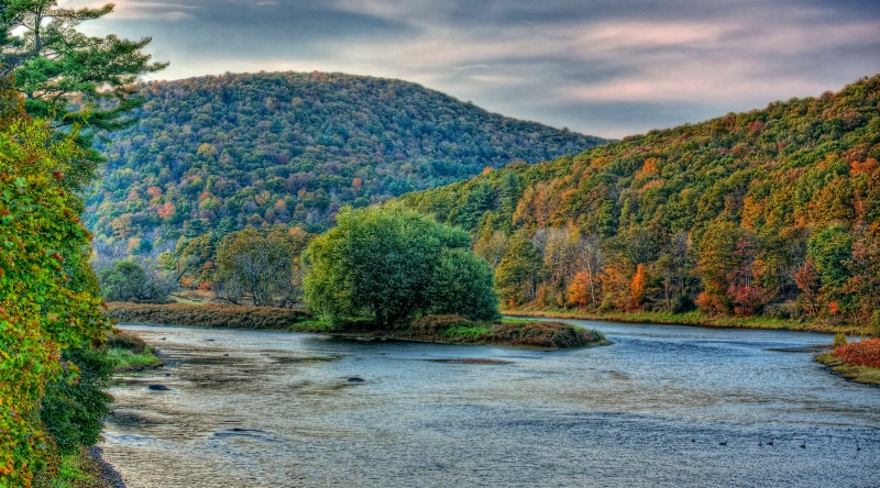 Fall on the Upper Delaware