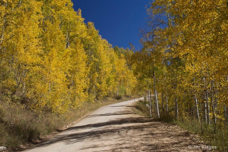 Kebler Pass Road
