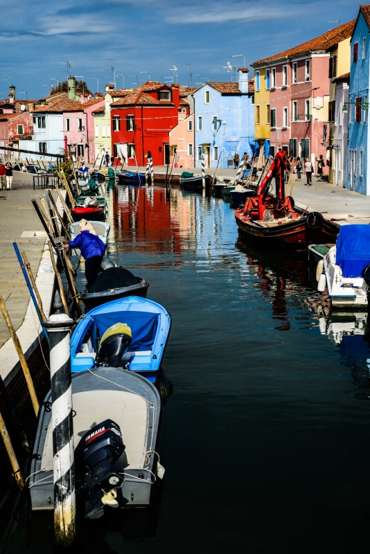 Burano At Work