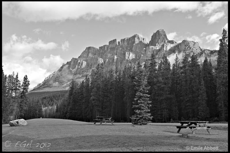Castle Mountain, Banff NP