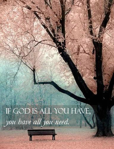 god is all 2